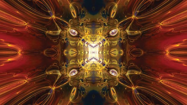 Fractal Abstract no1 by Dr-Pen
