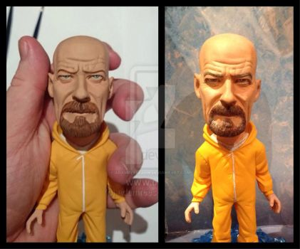 'I AM THE ONE WHO KNOCKS' Walter White repaint by adamreese2006