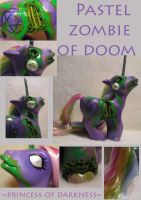 Pastel Zombie of Doom by DeepDarkCreations
