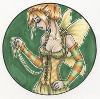 Yellow Lacing by Odins-Girl