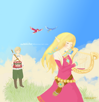 Advent Request#11: Skyward Sword by FluffableSheep