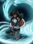 Korra Dragon Energy by SolKorra