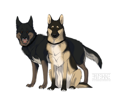 Fulda and Oskova by Wandering-Rei