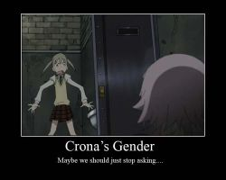 Crona's Gender by Girl--Gaara