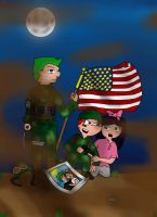 What is to be a Hero of War by Helihi