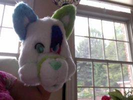 Awful picture of Canvas furhead (WIP WIP WIP) by GhostKoMochi