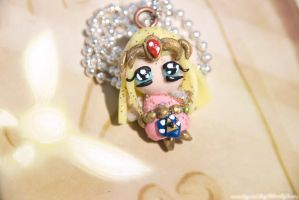 Chibi Zelda Necklace by IvrinielsArtNCosplay