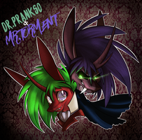 Dr.Prankso and Mr.Torment by TurrKoise