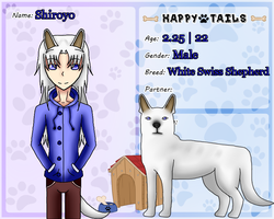 Happy Tails Second App ~ Shiroyo by TheYamiClaxia