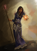 Flame of the Mage by LittleStephy