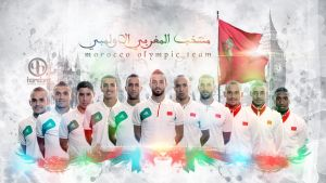 Morocco Olympic Football team by Hamdan-Graphics