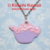 Frosted Teapot Necklace by FrostedFleurdeLis