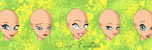 Winx Emotions Practise with fantazyme by kacper11000
