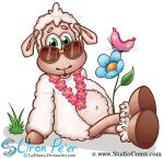 Lilly the Sheep 17 (Studio Comx 2013) by LPDisney