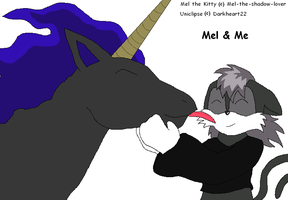 Me And Mel by darkheart22