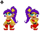 Shantae by PRINCEOFDARKNESSCLAW