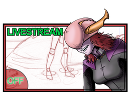 Inking LIVESTREAM OFF! by neilak20