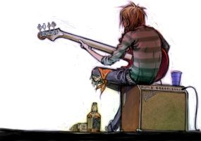bassist boy by NIW