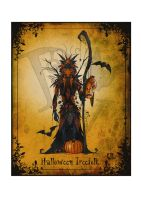Halloween Treefolk by clv