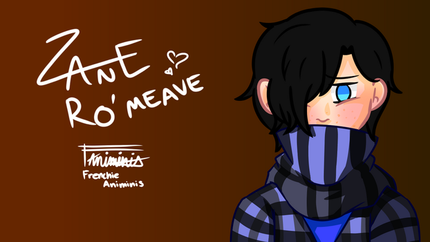 Zane Ro'meave by FrenchieAnimini
