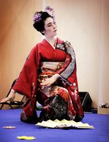 Nihon Buyo performance by Ceridwenn