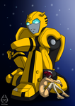 TFA - Bumblebee and Sari by Wirinee