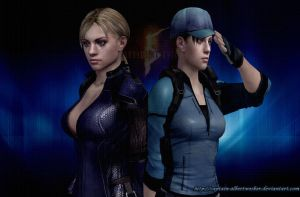 Team Jill by Captain-AlbertWesker