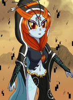 Midna the twilight princess by sketchinnegro
