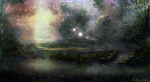 Forest of Wisps by JKRoots