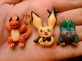 New Pokemon Charms for Sale by nemuineko85