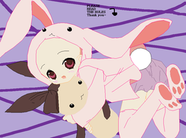 Lets have fun in a bunny suit by osakasbestfriendRosa