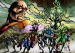Global Defense Force and Inner Beings Crossover by Mike-Montalvo