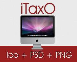 imac psd + png + ico by taxO