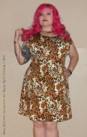 Snazzy Pants 8: Fitted Leopard Dress by honeyhalliwell