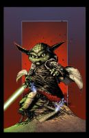 Yoda Colors by joshmedorsart