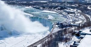 Niagara's Horseshoe Falls in Winter Garb by TomFawls