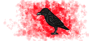 Crow sketch by Scarefish