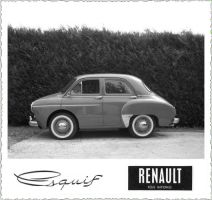 Renault Esquif Black + white by Bispro