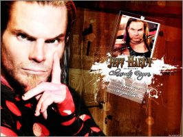 Jeff Hardy Wall by Y2Natalie