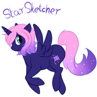 Star Sktecher Ponysona by CrispyCh0colate