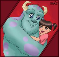 Monsters Inc. - Daddykitty by LovelyKouga