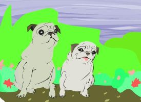 pugs of my life by Pancakeenthusiast