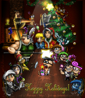 +BH: Happy Holidays 2007+ by Ferisae