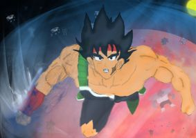 Bardock's anger against Frieza by goliad