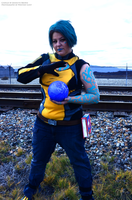 Borderlands 2 Maya Cosplay - You, stop. by sugarpoultry