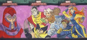 Marvel Masterpieces Triptych by kayjkay