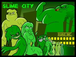 Slime City Ver. 1 by KingMonster