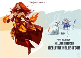 Dota 2 - Gurls by Tiny-Tyke