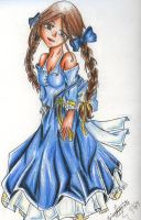Dorothy's Blue Dress by hottydollyz