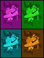 Nike Air Force One by ALilZeker
